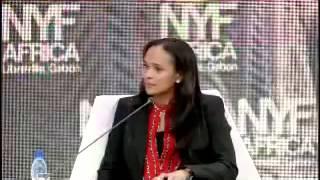 Entrevista de Isabel dos Santos no New York Forum Africa I