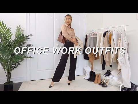 FALL WORK OUTFITS | What to wear to the office lookbook 2020
