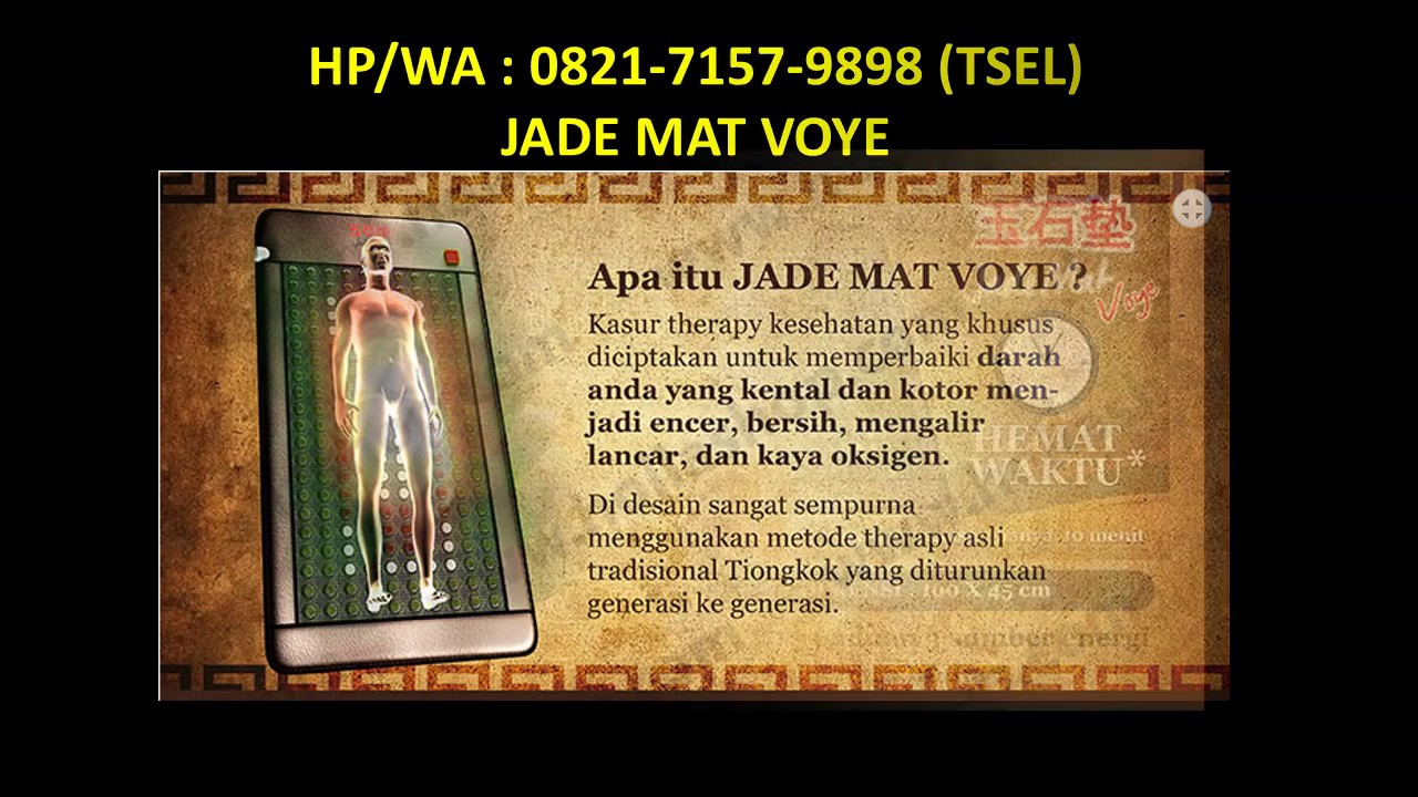 Jade Mat Voye Matras Terapi Kesehatan Update Daftar Harga Terbaru Kasur Mengandung Batu Tourmaline Promo Agen Di Bekasi Hp Wa 0821