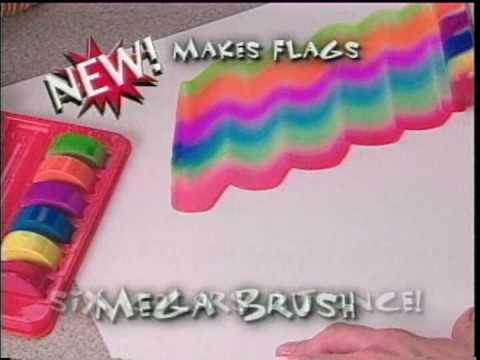 Rainbow Sponge Face Paint