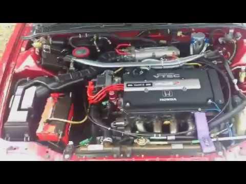 1991 Honda Integra XSI - V-tec just kicked in yo! - YouTube on