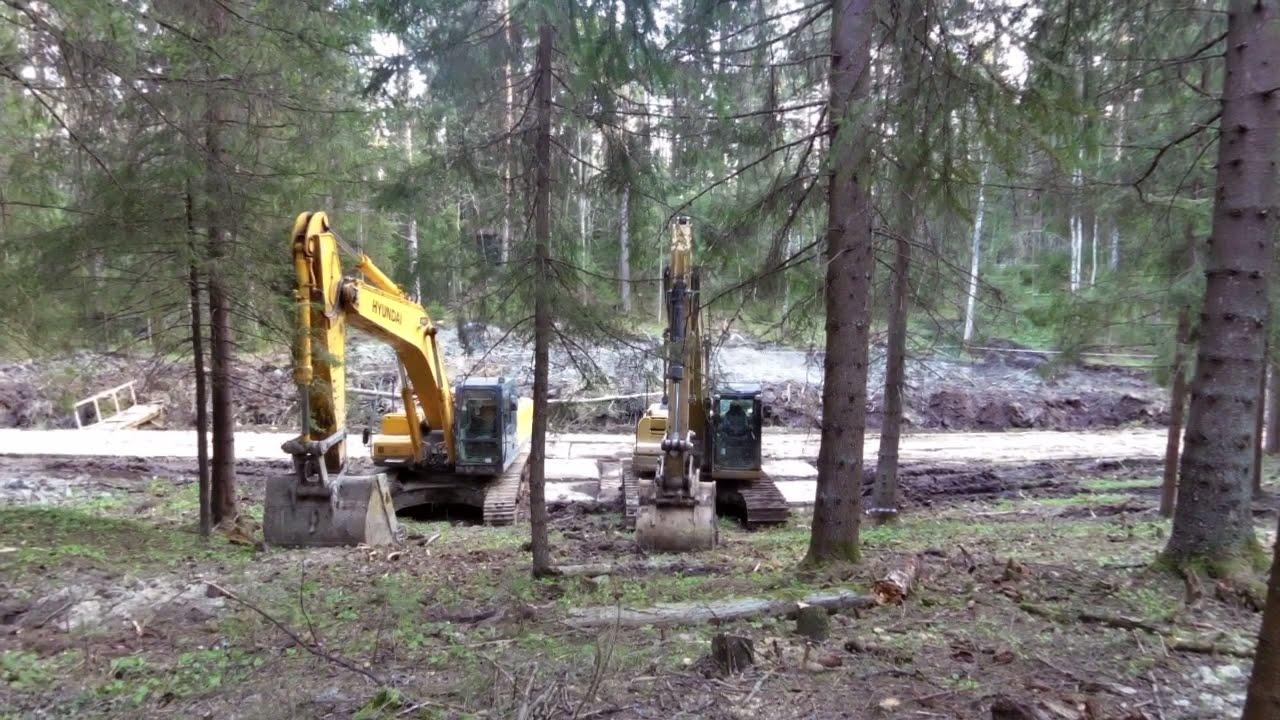 строительство на землях лесного фонда