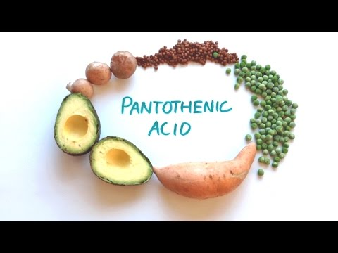 What is Vitamin B5 (Pantothenic Acid) good for? + Foods High in Vitamin B5.