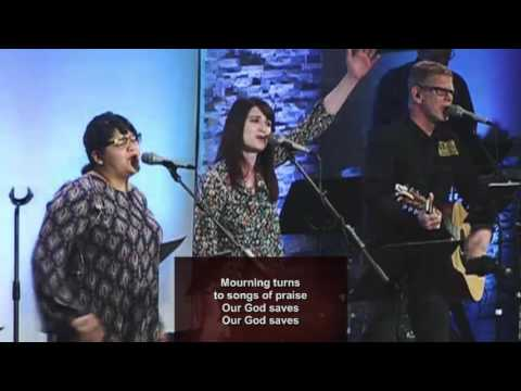 Our God Saves - rockin out in church!