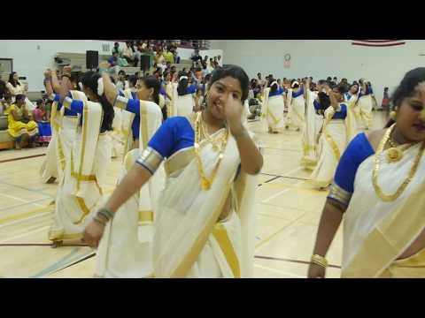 കിടു തിരുവാതിര !! Mega Thiruvathira 2017 KHA Onam Celebration - Aarppo 2017 - പൊളിച്ചു