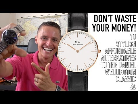Before You Buy A Daniel Wellington! - 10 Better & Affordable Bauhaus Style Dress Watches $50 to $2k
