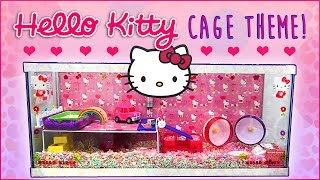 HELLO KITTY Hamster Cage Theme! (+ Secret?) Thumbnail