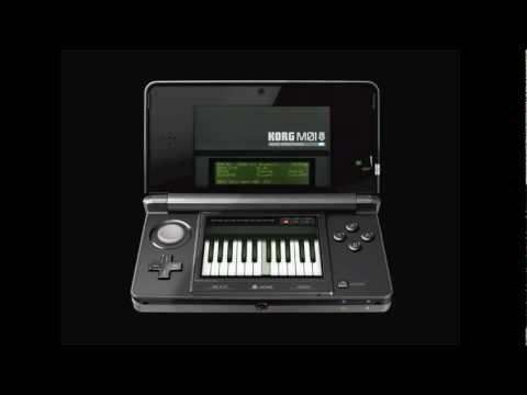 Korg M01D to re-create retro keyboard experience on Nintendo 3DS