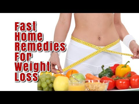 6 Home Remedies for Weight Loss | Fast & Easy Home Remedies for Weight Loss No Exercise No Diet