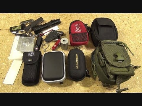 Maximizing Space in Small EDC and Survival Kits