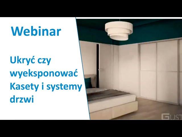 Ukryć czy wyeksponować  Kasety i systemy drzwi przesuwnych marki Laguna  Polska myśl i produkcja.