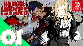No More Heroes [Switch] - Gameplay Walkthrough Part 1 Prologue - No Commentary
