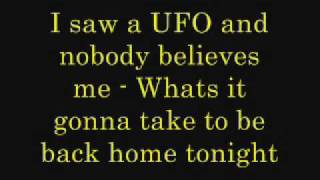 Download Sneaky sound system - UFO (lyrics) MP3 song and Music Video