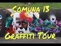 GRAFFITI TOUR IN COMUNA 13/MEDELLIN - TRAVEL DIARY #jackiegoescolombia