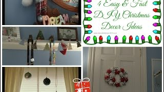 Do It Yourself: 4 Fast and Easy Christmas Decor! Thumbnail