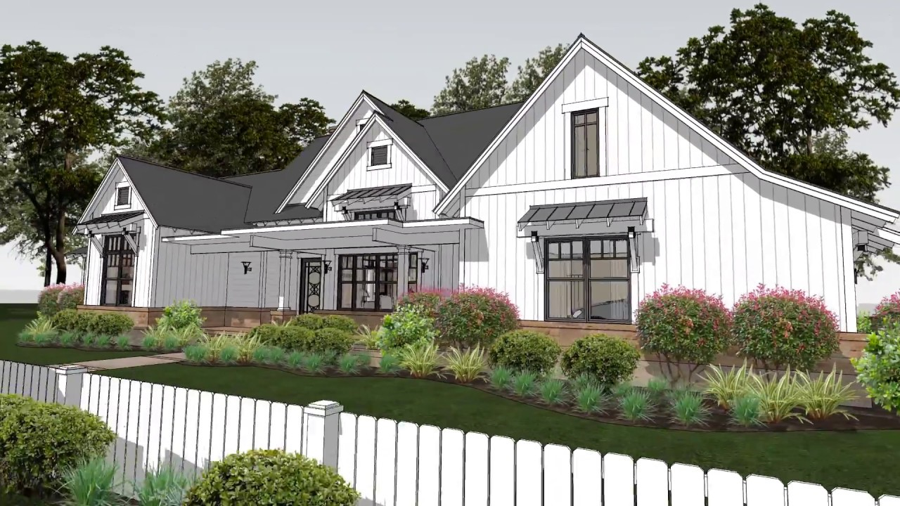 modern farmhouse plan 9401-00094