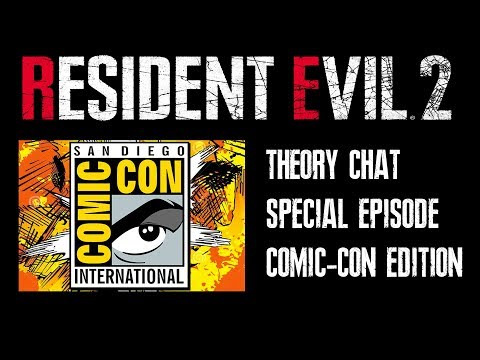 Resident Evil 2 Remake Comic Con - LIVE CHAT & NEWS UPDATES (No Not On Site)