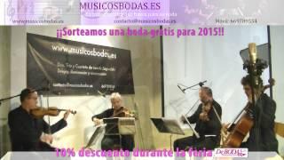 Música bodas Valladolid. Yesterday . www.musicosbodas.es/valladolid.html