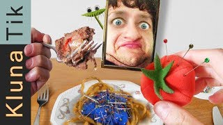 Eating CATFOOD & FABRICS! |#61 KLUNATIK COMPILATION    ASMR eating sounds no talk