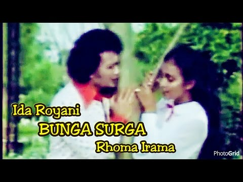 Bunga Surga - Rhoma Irama ft. Ida Royani - Original Video Clip of film