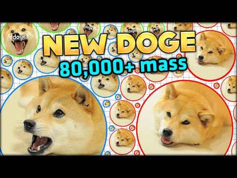NEW DOGE, NEW GAMEMODE! MIX UP AGARIO GAMEMODE 80,000+ MASS - BIGGEST EVER! (Agar.io #135)