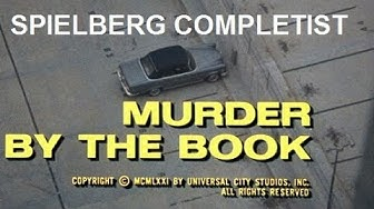 "Spielberg Completist: COLUMBO: ""Murder by the Book"" (1971)"