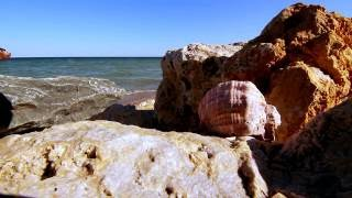 Relaxing Sea Waves at the Black Sea - 1 Hour HD - Sea Sound, Beach views and Ocean Waves Sound
