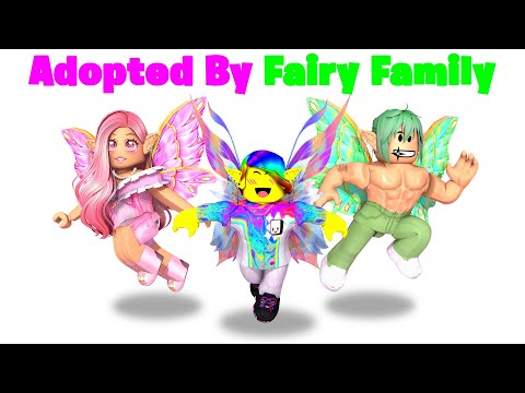 BABY Tofuu gets Adopted by FAIRY Family.. 🧚♀️🧚♂️ (Roblox)
