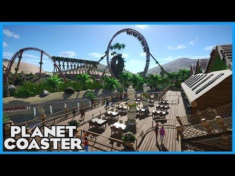 FATA MORGANA! Realistic Coaster & Artsy Theming! Coaster Spotlight 291 #PlanetCoaster