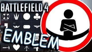 Battlefield 4 EMBLEMS. Hardline. Jean Claude Van Damme Volvo epic!