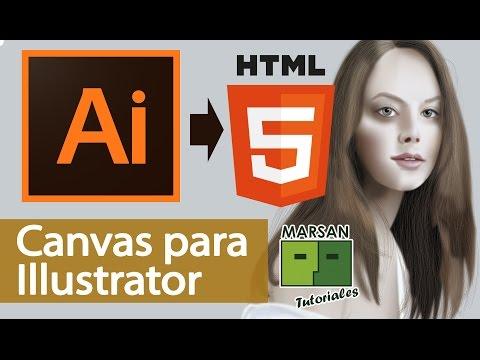 Exporta Archivos Illustrator En HTML5 (canvas)