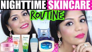 Night Time Skin care Routine For Oily Acne Skin | SuperPrincessjo