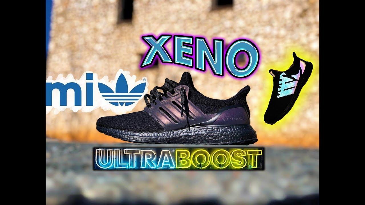 05f122376 miAdidas XENO Ultra Boost  Triple Black  2-Pair REVIEW