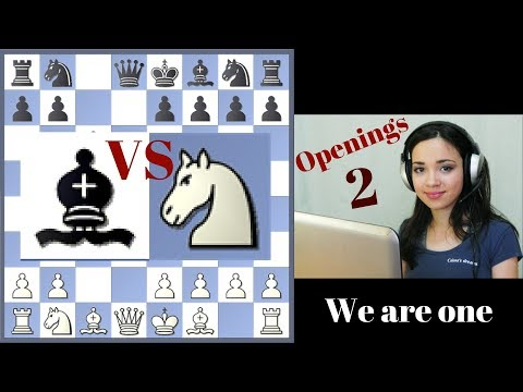 Free Short Chess Lessons 2 - Knight or Bishop in Opening