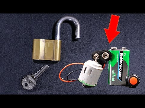 🔏😱How To Open Any Lock Without Key  (8 Easy Ways) 🔐 Elite Life Hacks