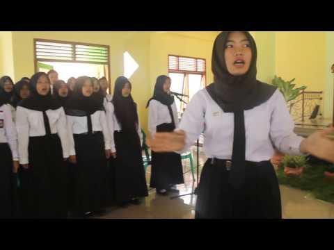 Lagu Indonesia Raya (Paduan Suara SMK Al-Huda Sadananya)