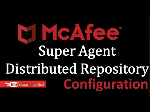 McAfee Super Agent Distributed Repository Creations!!