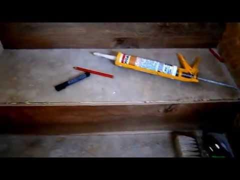 Отделка металлических лестниц как и чем, обшить