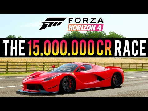 INSANE FORZA HORIZON 4 RACE! 15,000,000CR & 220 LEVELS UP - 2,000 Mile Race thumbnail