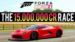 INSANE FORZA HORIZON 4 RACE! 15,000,000CR & 220 LEVELS UP - 2,000 Mile Race