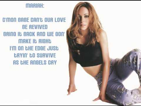 Mariah Carey - Angels Cry ft. Ne-Yo (lyrics)