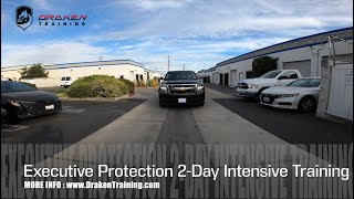 EXECUTIVE PROTECTION 2-DAY INTENSIVE TRAINING | LOS ANGELES | DRAKEN SECURITY TRAINING