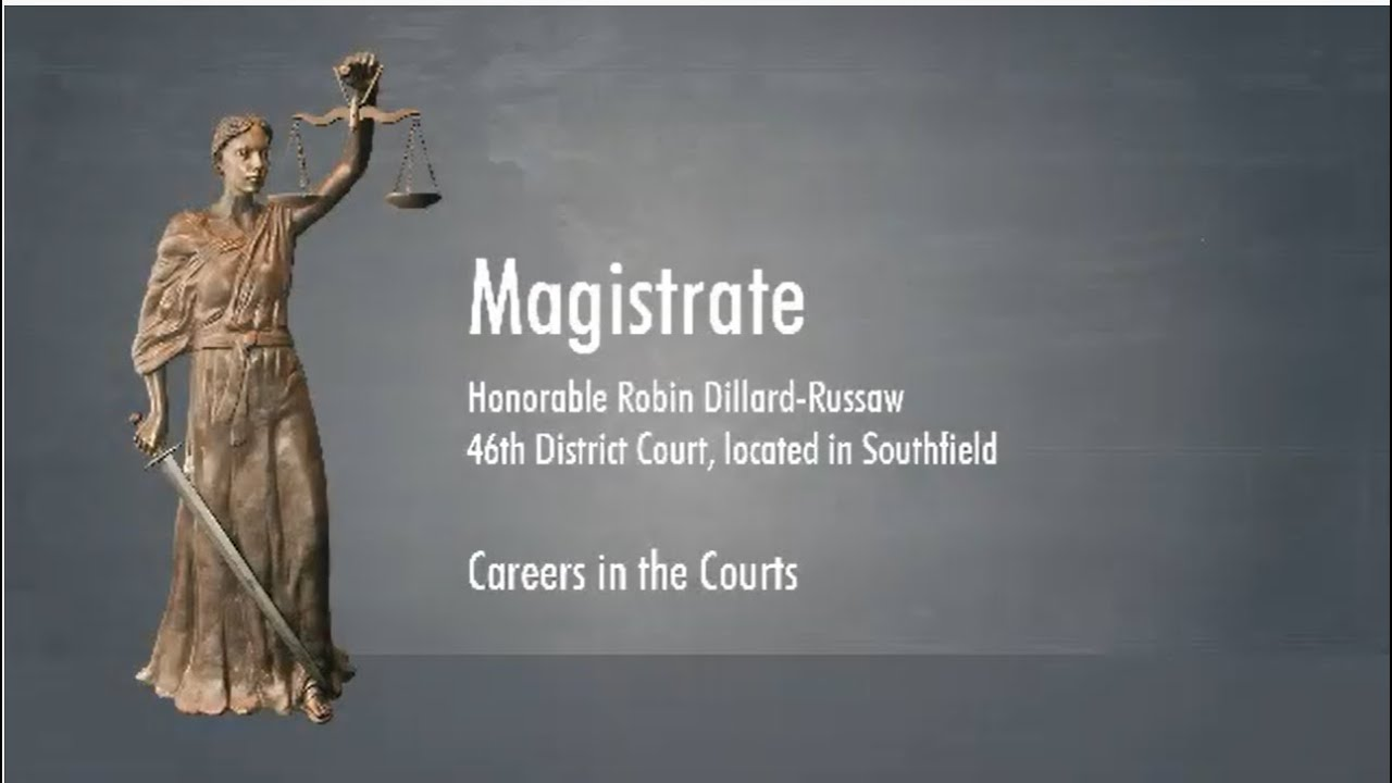 """MSC Learning Center """"Careers in the Courts"""" - Magistrate Robin Dillard-Russaw"""