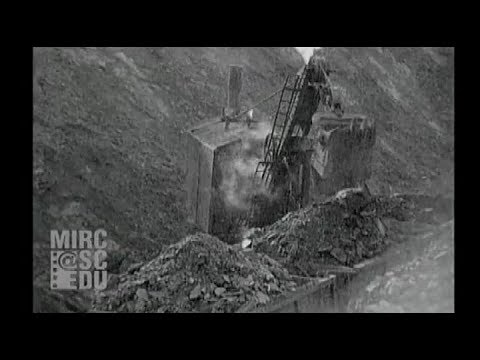 Open Pit Coal Mining In Pennsylvania, 1919
