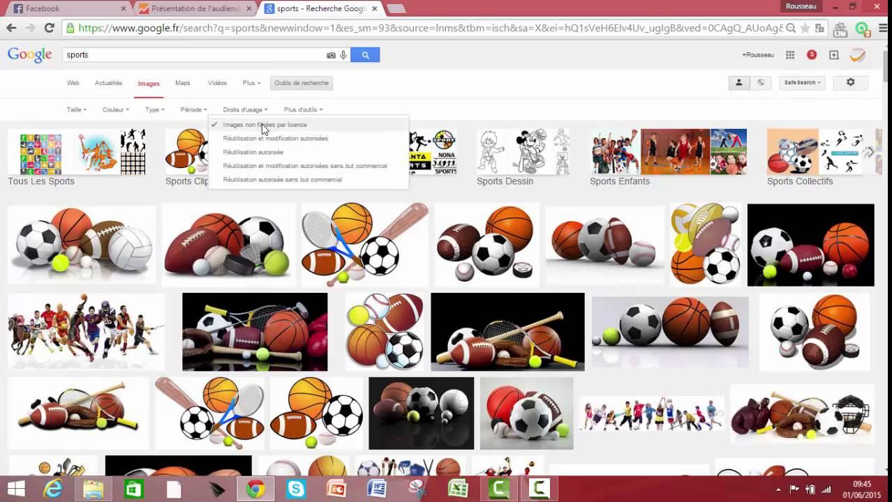 Comment Trouver Rapidement Des Images Libres De Droit Sur Google Youtube