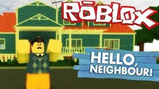 🔥 ROBLOX [#18] PIWNICA SĄSIADA?! - HELLO NEIGHBOR ALPHA 2!