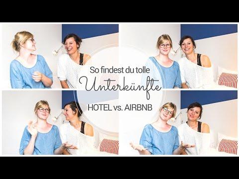 ✈ Die PERFEKTE UNTERKUNFT finden: Hotel vs. Airbnb w/ Stella Pfeifer ✈