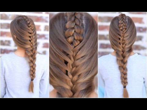 The Tuxedo Braid Cute Girls Hairstyles YouTube