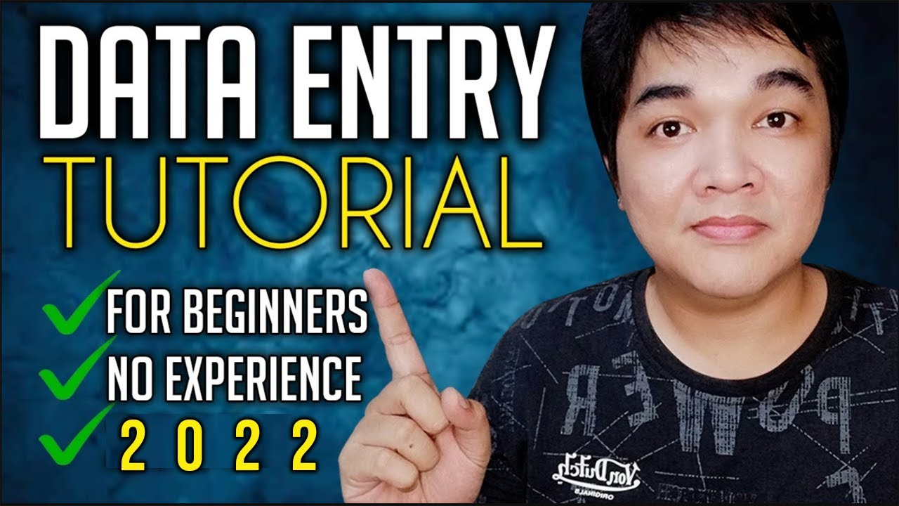 Online Data Entry Jobs Data Encoder Tutorial For Beginners Online Jobs At Home Philippines