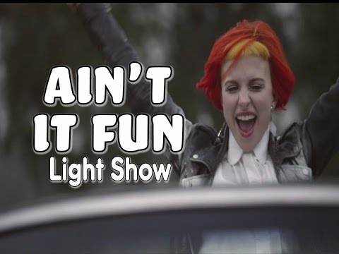 "Paramore - ""Ain't it Fun"" (Light Show)"